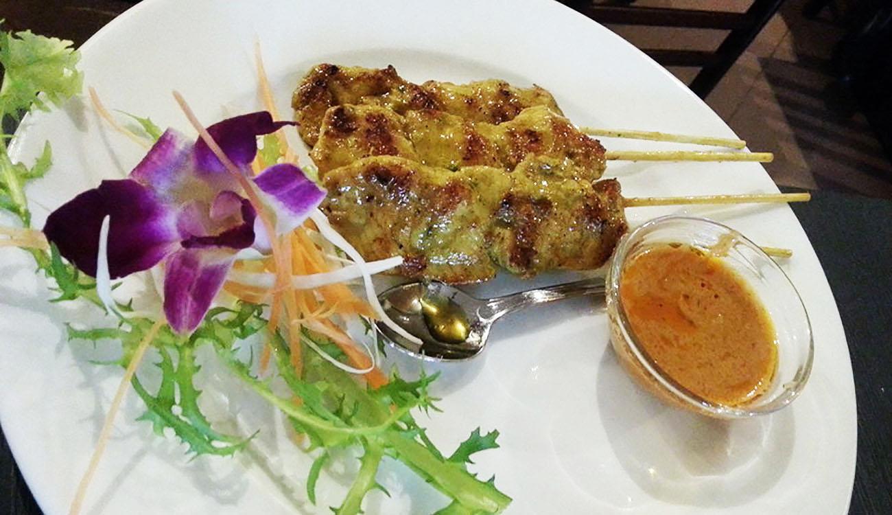 Sukhothai Ristorante Thailandese a Roma – Satay di pollo